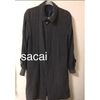サカイ(sacai)のsacai サカイ 比翼仕立て 春夏モデルコート(ステンカラーコート)