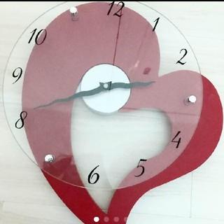 フランフラン(Francfranc)の掛け時計 ハート♡(掛時計/柱時計)