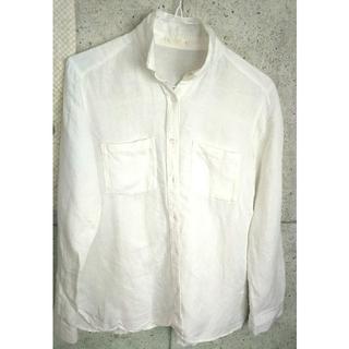 ジーユー(GU)の白シャツ  レディース(シャツ/ブラウス(長袖/七分))