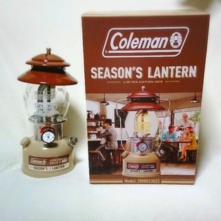 コールマン(Coleman)のColemanコールマンシーズンズランタン2019(ライト/ランタン)