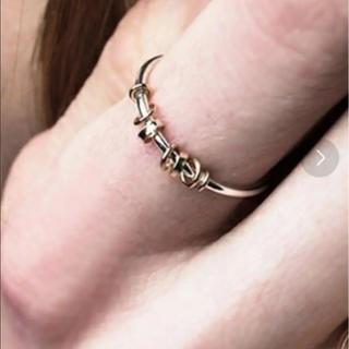 アメリヴィンテージ(Ameri VINTAGE)のAMERI  10K INTERSECT RING(リング(指輪))