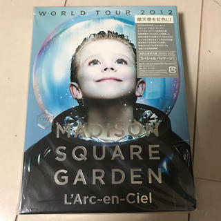 ラルクアンシエル DVD MADISON SQUARE GARDEN