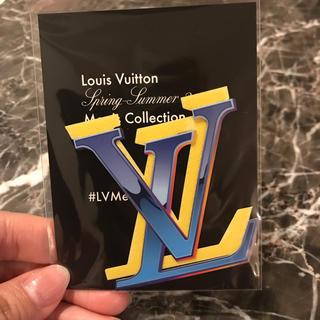 ルイヴィトン(LOUIS VUITTON)のルイヴィトン ヴァージル 限定ロゴステッカー(シール)