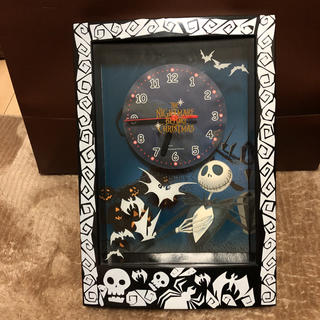ディズニー(Disney)のナイトメアー·ビフォア·クリスマス 時計(掛時計/柱時計)