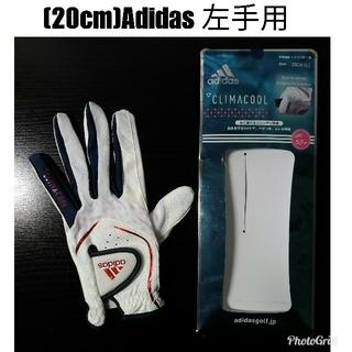 アディダス(adidas)の[20cm]Lサイズ Adidas CLIMA COOL ゴルフグローブ 女性用(その他)