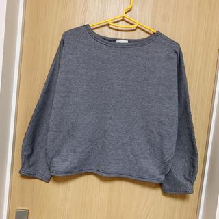 ジーユー(GU)の[美品]GU プルオーバー S レディース グレンチェック(Tシャツ(長袖/七分))