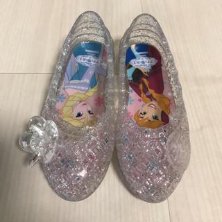 ディズニー(Disney)のアナと雪の女王♡ガラスの靴(14cm)(サンダル)