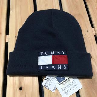 トミーヒルフィガー(TOMMY HILFIGER)のtommy jeans ニット帽 ビーニー(ニット帽/ビーニー)