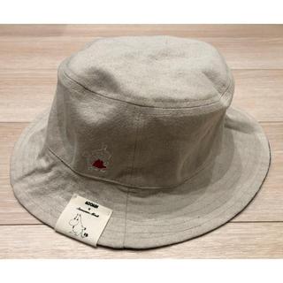 サマンサモスモス(SM2)のタグ付き新品 ムーミン リバーシブル 帽子(ハット)