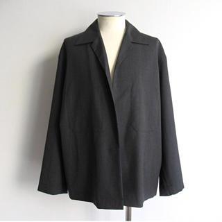 コモリ(COMOLI)のAURALEE 19SS ウールトロピカルシャツジャケット(テーラードジャケット)