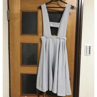 メリージェニー(merry jenny)のメリージェニーMジョージェット ジャンパースカート(ひざ丈スカート)