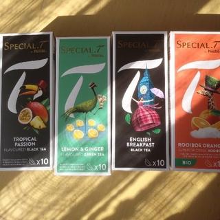 ネスレ(Nestle)のネスレ スペシャルt 40カプセル(茶)