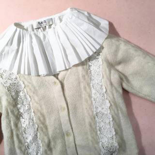 シーニューヨーク(Sea New York)のsea new york Lace Inset Cardigan(カーディガン)