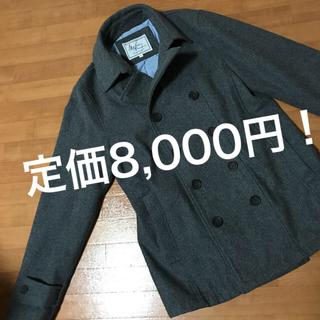 ザラ(ZARA)のPコート ピーコート  ジャケット チェスターコート グレー スーツ(ピーコート)