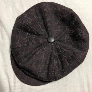 グッチ(Gucci)の新品未使用 GUCCI  ハンチング帽 ベレー帽(ハンチング/ベレー帽)