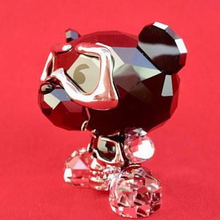 スワロフスキー(SWAROVSKI)のスワロフスキーBo Bear - Heavy Metal正規品(ガラス)
