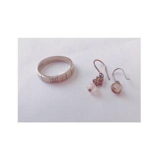 クレージュ(Courreges)のCourrege ring&pierce (リング(指輪))