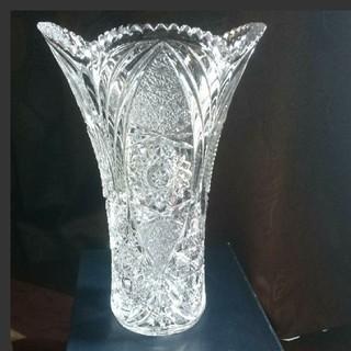 クリスタル 花瓶  中古(花瓶)
