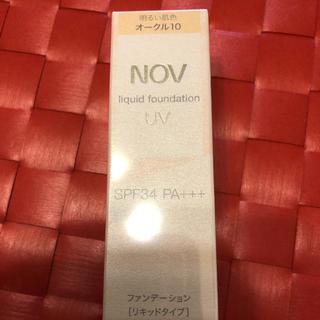 ノブ(NOV)のノブ  リキッドファンデーション(ファンデーション)