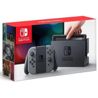 ニンテンドースイッチ(Nintendo Switch)の任天堂switch グレー(家庭用ゲーム機本体)