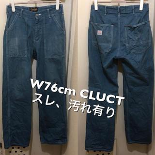 クラクト(CLUCT)のW76cm!日本製CLUCT クラクト  古着ワークパンツ ペインターパンツ (ワークパンツ/カーゴパンツ)