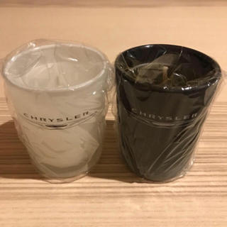 クライスラー(Chrysler)の☆CHRYSLER 非売品キャンドル2個セット 未使用品☆(キャンドル)