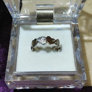 クレージュ(Courreges)のクレージュ K10&シルバーダイヤモンドリング(リング(指輪))