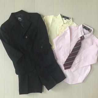 バーバリー(BURBERRY)の美品♪バーバリー スーツ 4点セット  100cm 男の子(ドレス/フォーマル)