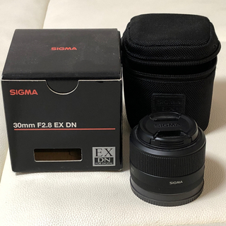 シグマ(SIGMA)のSIGMA シグマ Eマウント 30mm F2.8 EX DN(レンズ(単焦点))