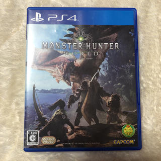 プレイステーション4(PlayStation4)のモンスターハンターワールド(家庭用ゲームソフト)