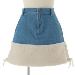 リズリサ(LIZ LISA)のリズリサ ボア切り替えスカート(ミニスカート)
