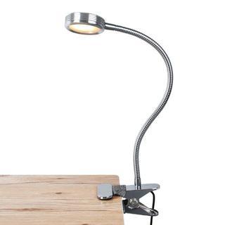 送料無料!LEDデスクライトクリップライト(テーブルスタンド)