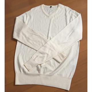 ムジルシリョウヒン(MUJI (無印良品))の無印 洗えるニット Vネック(ニット/セーター)