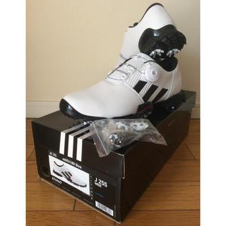 アディダス(adidas)のアディダスゴルフシューズ  adifit180 Boa  25.5cm(シューズ)