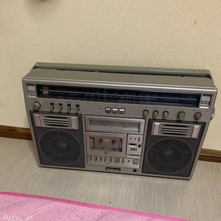 レトロ ラジオ National RX 5600 レア 可動品(ラジオ)