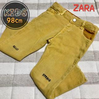 ZARA - kids 98cm【ZARA】刺繍&フリンジ加工入りパンツ