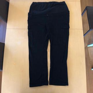 マタニティ パンツ 3L ブラック(マタニティボトムス)