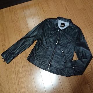 トルネードマートファム(TORNADO MART FEMME)のトルネードマート Feeme 本革 ライダースジャケット (ライダースジャケット)
