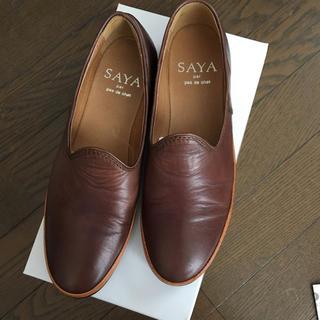 サヤ(SAYA)のsaya スリッポン(スリッポン/モカシン)