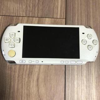 プレイステーションポータブル(PlayStation Portable)のpsp 3000 本体(携帯用ゲーム本体)