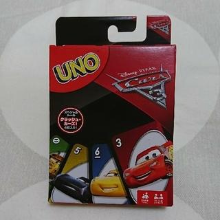 ディズニー(Disney)のディズニーピクサー カーズ3 UNO 新品(トランプ/UNO)