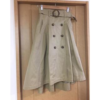 アンドクチュール(And Couture)の春🌟【アンドクチュール 】トレンチロングスカート(ロングスカート)