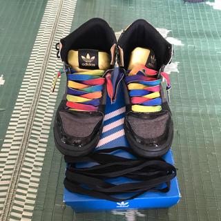 アディダス(adidas)のadidas ハイカットシューズ  23.0cm(その他)