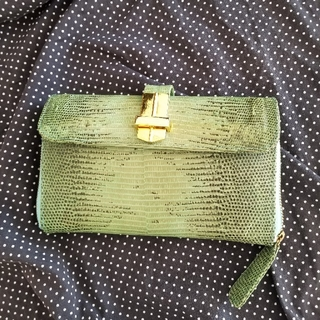 エンジェルジャクソン(Angel Jackson)のAngel Jacksonエンジェルジャクソン/パイソン柄大きなお財布/クラッチ(財布)