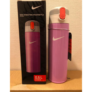 ナイキ(NIKE)のNIKE 新品未使用 ストローマグ  ステンレス水筒 子供用水筒 保冷ボトル(水筒)