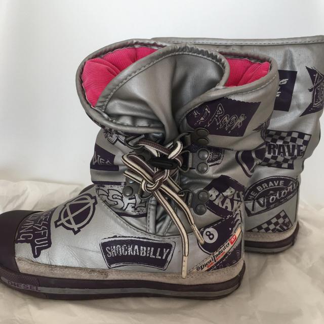 DIESEL(ディーゼル)のディーゼル キッズブーツ size:19〜20 キッズ/ベビー/マタニティのキッズ靴/シューズ (15cm~)(ブーツ)の商品写真