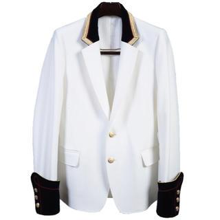 希少17SS極美品galaabendガラアーベント ナポレオンジャケット コート
