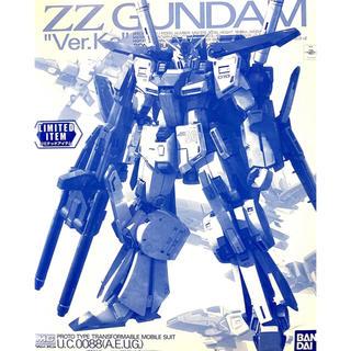 バンダイ(BANDAI)のMG 1/100 ダブルゼータガンダム Ver.Ka [クリアカラー](プラモデル)