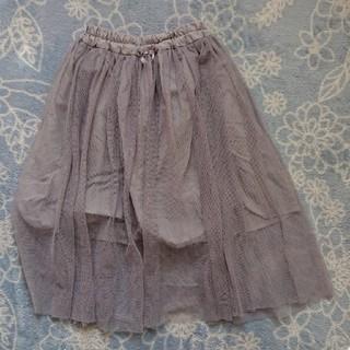 ジーユー(GU)のキッズ用スカート(スカート)
