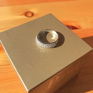 ポンテヴェキオ(PonteVecchio)のしましま様専用 ポンテヴェキオ K18WG ダイヤモンドリング ハーフエタニティ(リング(指輪))